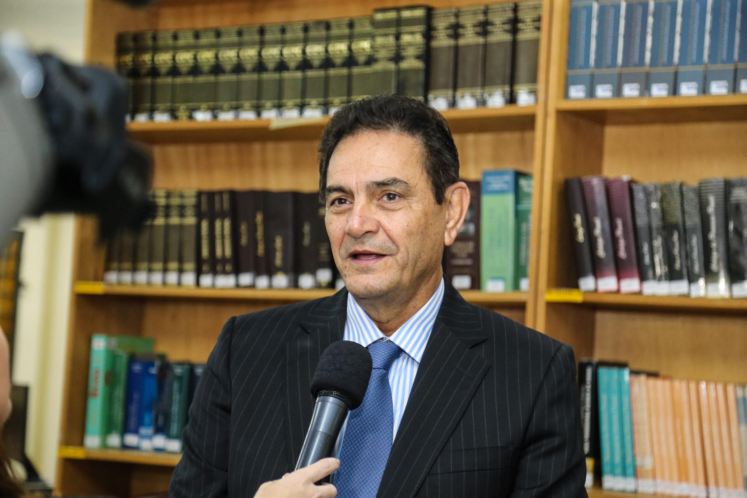 Presidente do Fundepar José Maria Ferreira,   no início do ano letivo. Curitiba, 14/02/2019 -  Foto: Geraldo Bubniak/ANPr