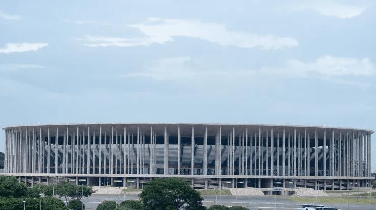 Estádio Mané Garrincha em Brasília.Foto: André Muzell/AGIF
