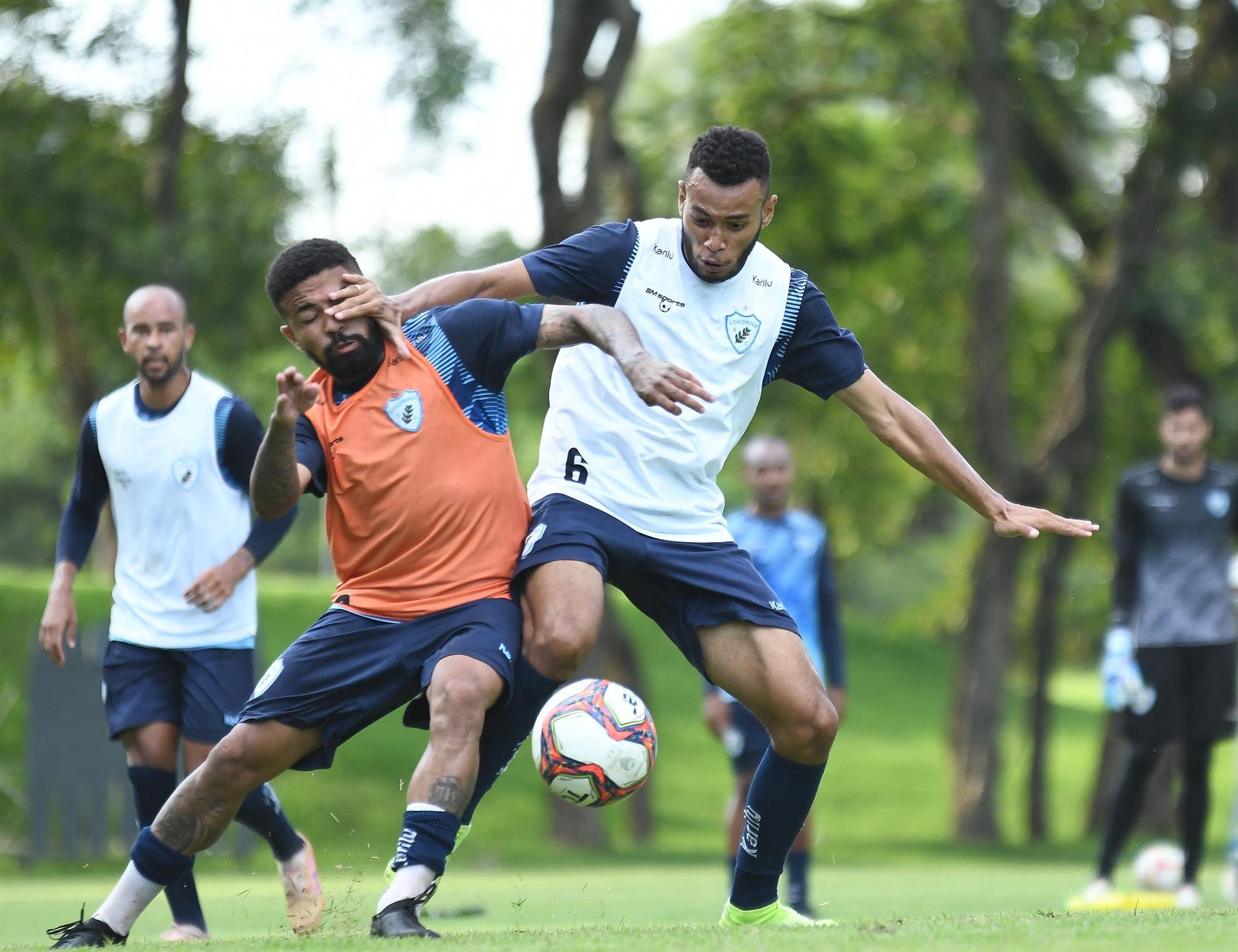 Londrina segue em busca da primeira vitória no campeonato Paranaense. Foto: Gustavo Oliveira/LEC