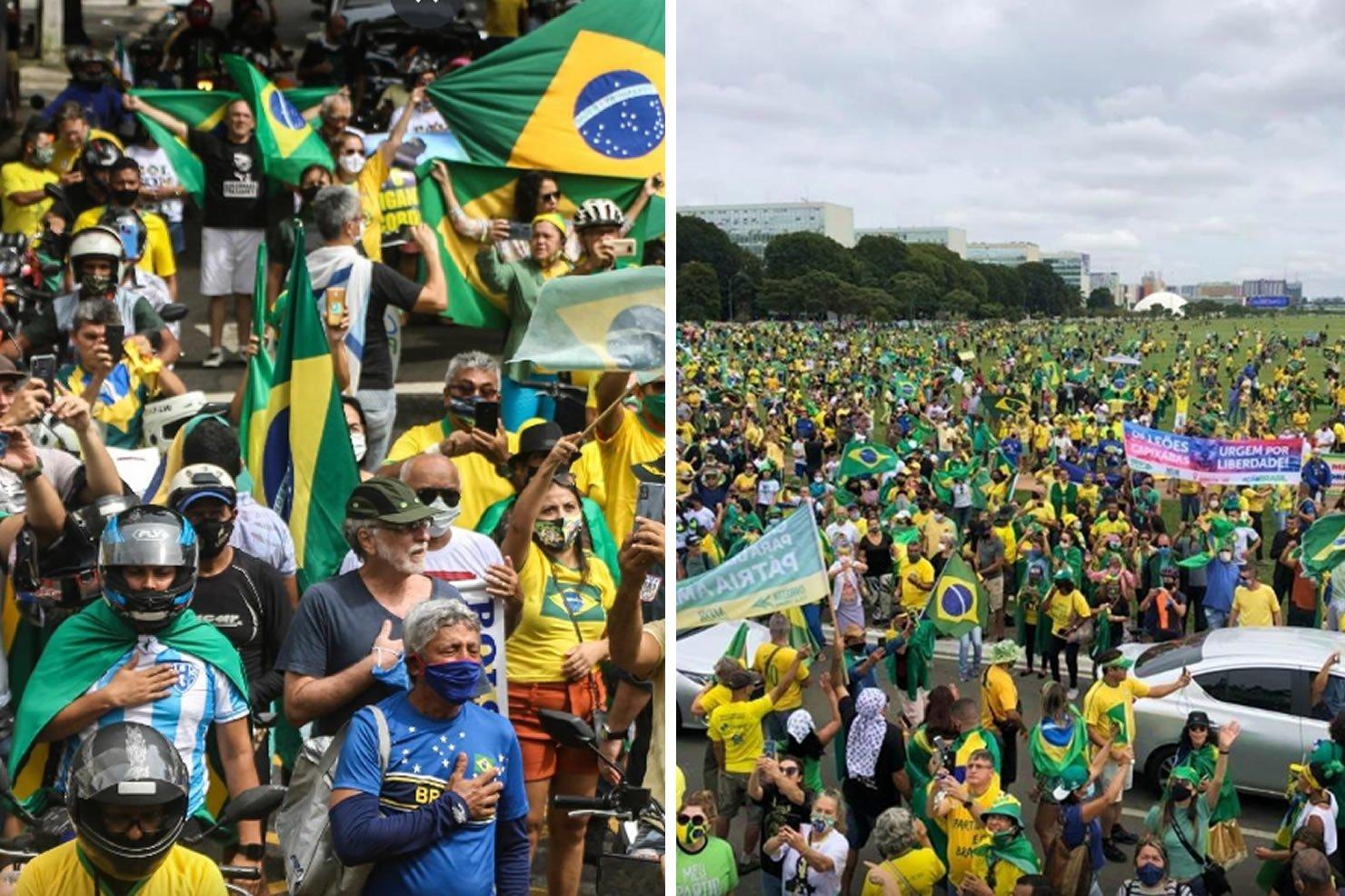 bolsonaro manifestacoes | 24Horas