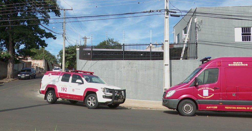 O pintor caiu de uma altura de 7 metros/ Foto: RPC