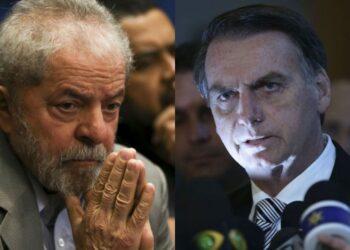 Lula lidera intenções de voto contra Bolsonaro em 2022 - Foto: Arquivo