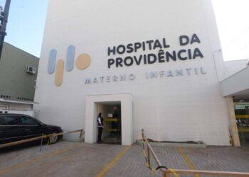 Hospital da Providência é o principal no tratamento da Covid-19 em Apucarana - Foto: AEN
