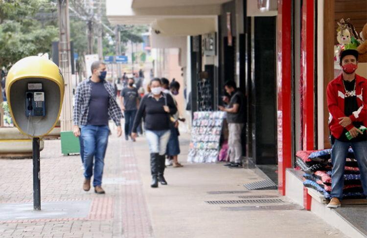 Calçadão de Londrina - Foto: Emerson Dias