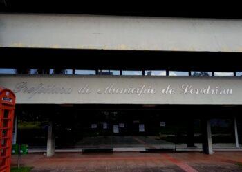 Fachada da prefeitura de Londrina - Foto: Arquivo